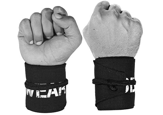 wod wear nylon wrist wraps