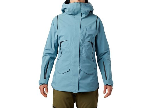 mountain hardwear boundary line gore-tex insulated jacket womens